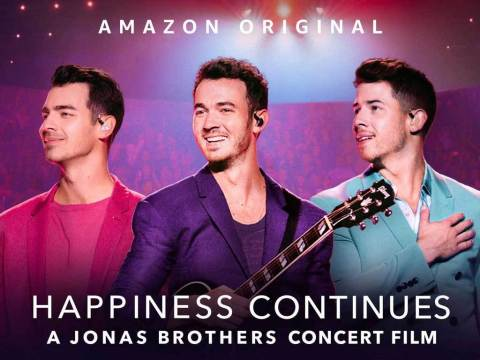 Happiness Continues: A Jonas Brothers Concert Film (Photo: Amazon Studios)