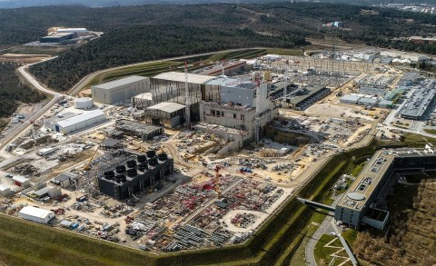 ITER construction site in Provence in the south of France (Photo: Business Wire)