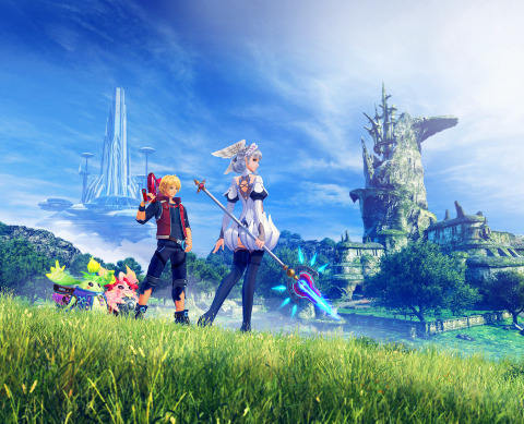 As you battle your way through giant environments packed with complex characters, engaging quests and hidden secrets to unearth, the lush world of Xenoblade Chronicles unfolds into an unforgettable RPG experience. (Photo: Business Wire)