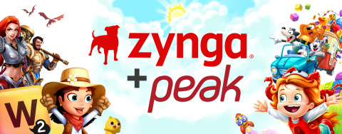 Zynga Enters Into Agreement to Acquire Istanbul-based Peak, Creator of Top Charting Mobile Franchises Toon Blast and Toy Blast (Graphic: Business Wire)