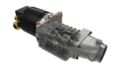 Eaton's Twin Vortices Series (TVS®) technology provides accurate and fast air control to enable rapid fuel cell voltage control. (Photo: Business Wire)