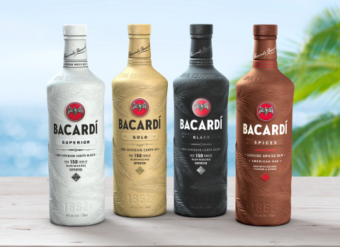 Bacardi First in Fight Against Plastic Pollution With 100% Biodegradable Spirits Bottle (Photo: Business Wire)