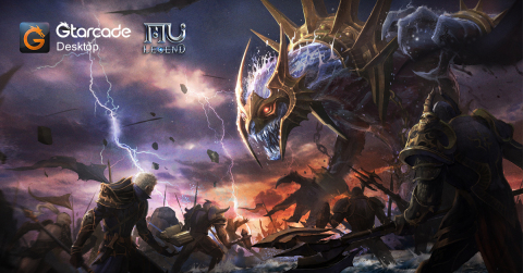 MU Legend Pre-Registration Now Live On GTarcade (Graphic: Business Wire)