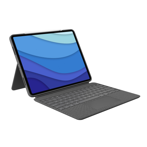 """Logitech Combo Touch, Logitech's Most Versatile Case with Detachable Keyboard and Integrated Trackpad, Is Ready for the Next Generation of iPad Pro 12.9"""" and iPad Pro 11"""" (Photo: Business Wire)"""