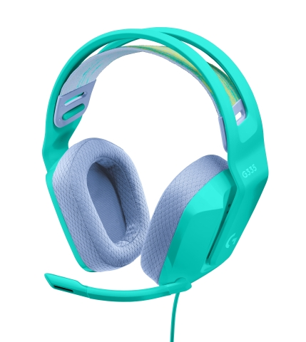 Logitech G G335 Wired Gaming Headset features a new slim, lightweight gaming headset to its Color Collection of gaming gear. (Photo: Business Wire)