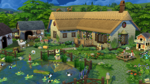 THE SIMS™ 4 COTTAGE LIVING EXPANSION PACK (Photo: Business Wire)