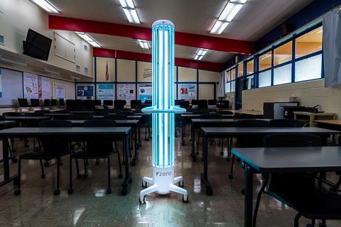 R-Zero Arc in a K-12 Classroom (Photo Business Wire)