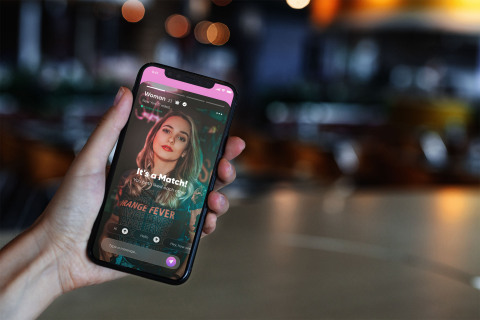Kasual hookup app serves up enhanced safety features. (Photo: Business Wire)
