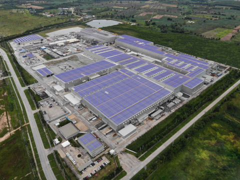 Image of the solar panels to be installed (Photo: Business Wire)