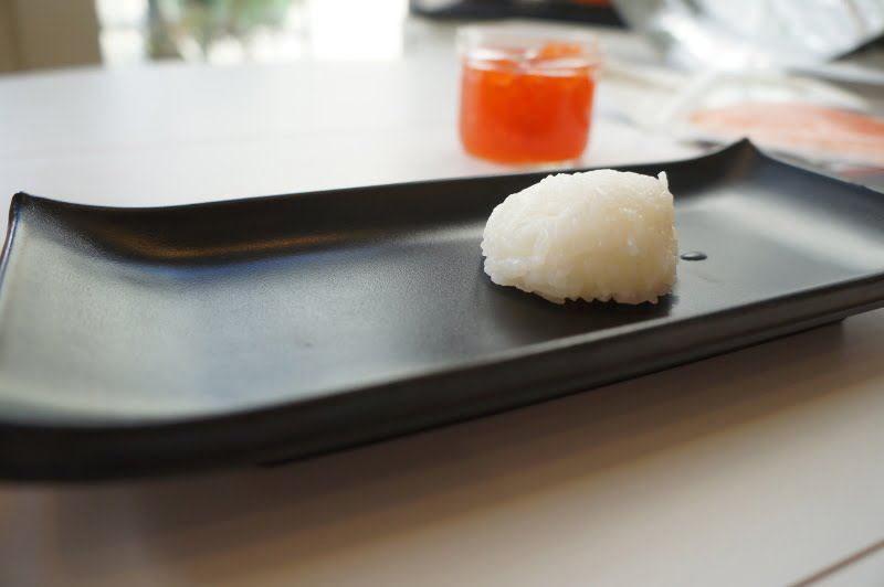 Rice ball for gunkan sushi