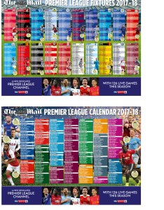 Free premier league wallchart with the mail on sunday also mymail rh