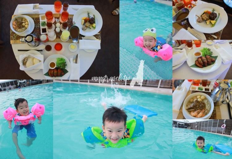 【台南住宿】台南香格里拉大飯店(泳池超大、床好睡、豐盛早餐)