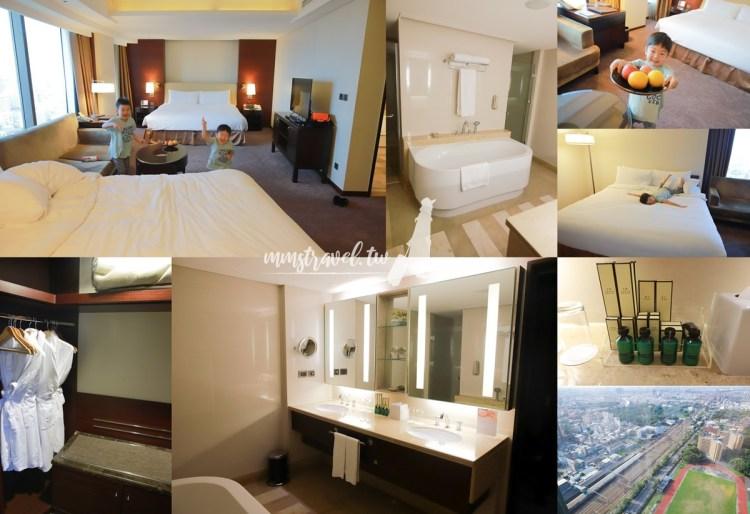 【台南住宿】推薦台南香格里拉大飯店!一家四口入住都素喜的超大房型