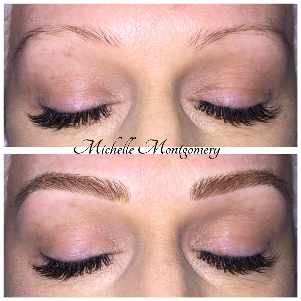 Semi Permanent Eyebrows - MM Studios