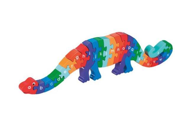 Lanka Kade Dinosaur A Z Wooden Jigsaw Puzzle
