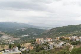 Aussicht von Calitri aus