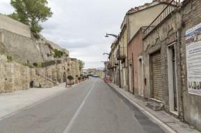 Alte Mauern bei der Altstadt von Calitri