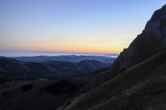 Wunderschöne Farben bei Sonnenaufgang