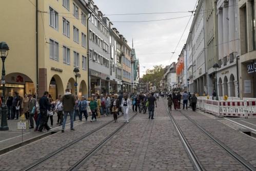 Flanieren in Freiburg