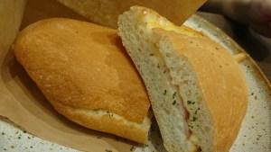 チーズベーコンサンドイッチ