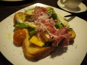 野菜のせフレンチトースト