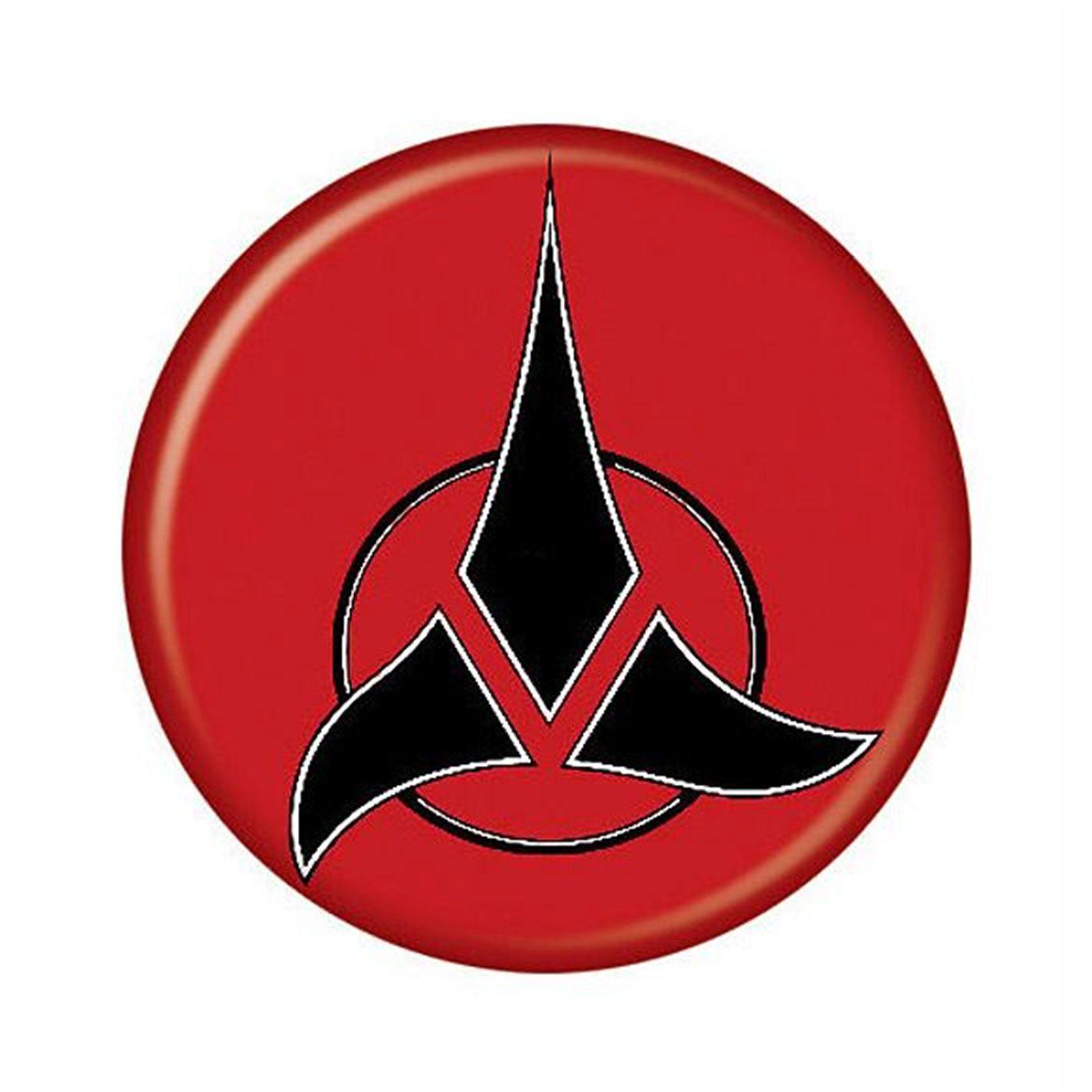 star trek klingon insignia