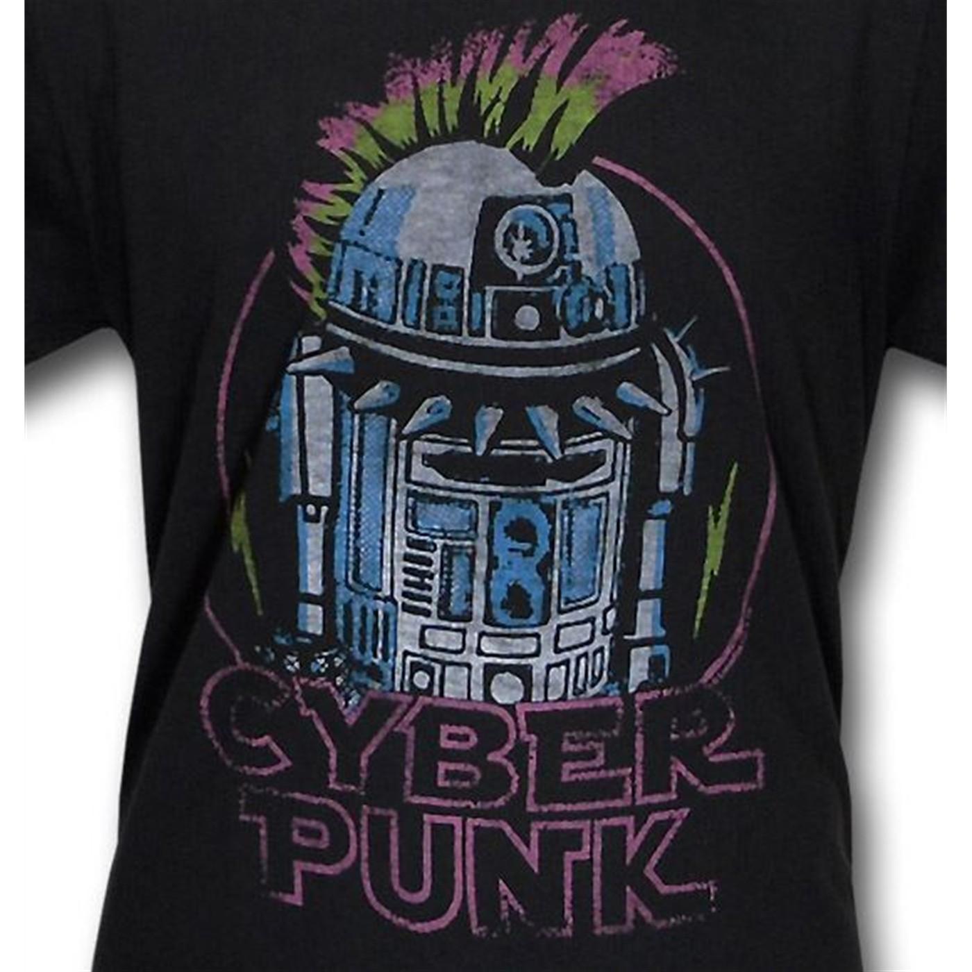 Star Wars R2 D2 Cyber Punk Junk Food T Shirt
