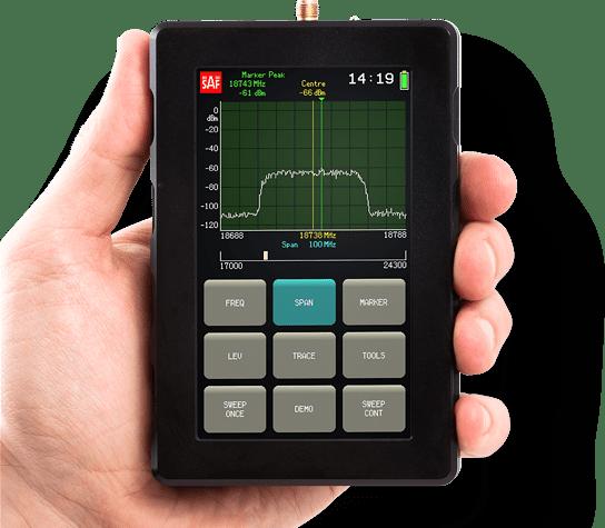 SAF Spectrum Compact spectrum analyzer