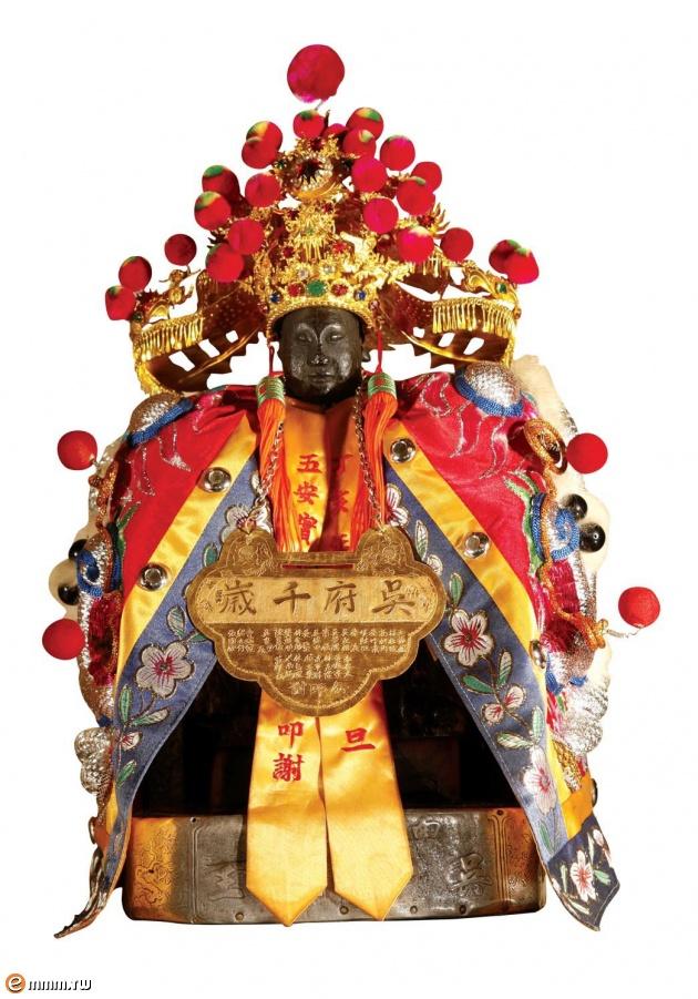 「吳府千歲」忠勇之神,是五王中唯一「無鬚王爺」