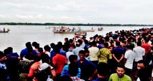 launch capsized