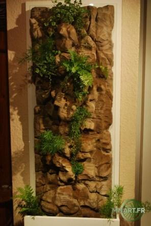Mur Végétal Fausse pierre 130/10/60