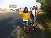 Hitchiking to Slovakia