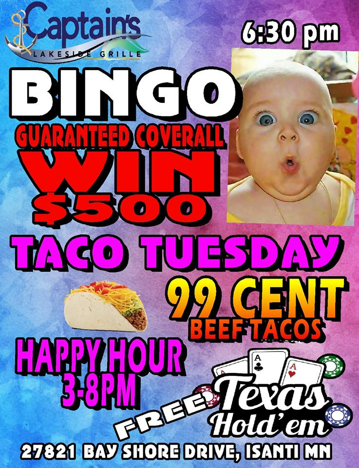 bar bingo near me