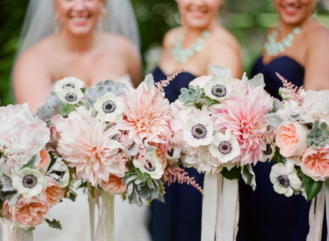 Sabrina  Matt A Summer Wedding In Blush Mint and Navy  Minnesota Bride