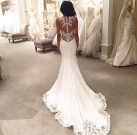 5 Incredible Low Back Wedding Dresses