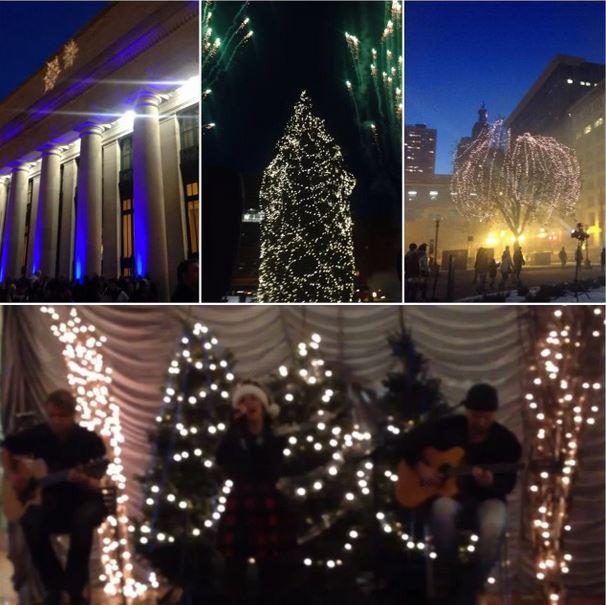 UD xmas tree lighting 2