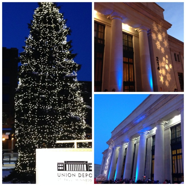 Union Depot Tree Lighting