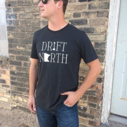 Drift North Minnesota (Unisex) $24.99 [Wheat & Beans]