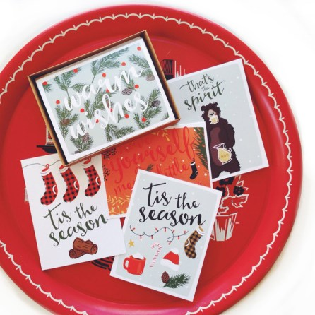 """Tis the Season"" Christmas Cards Set (5 Cards) $17.99 [The VOICE Community]"