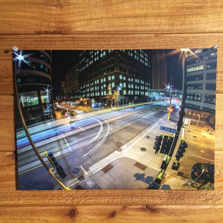 The Light Trail Print $17.99 [The VOICE Community]