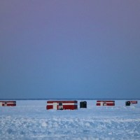 Ice Fishing on Lake Mille Lacs