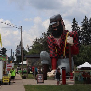 Paul Bunyan Days. Akeley, MN.