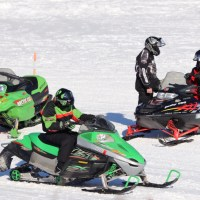 Snowmobiling in Minnesota