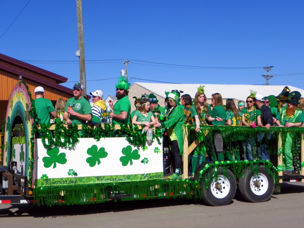 The St. Patrick's Day Parade in Graceville