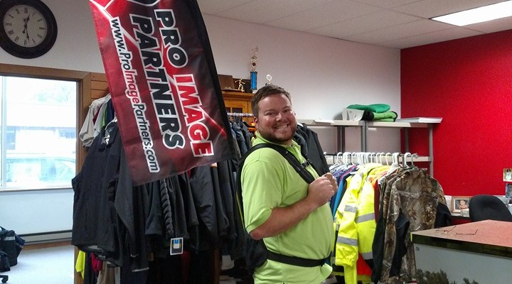 Jeremy Radtke's Design Connects Ortonville Business to State Tournament