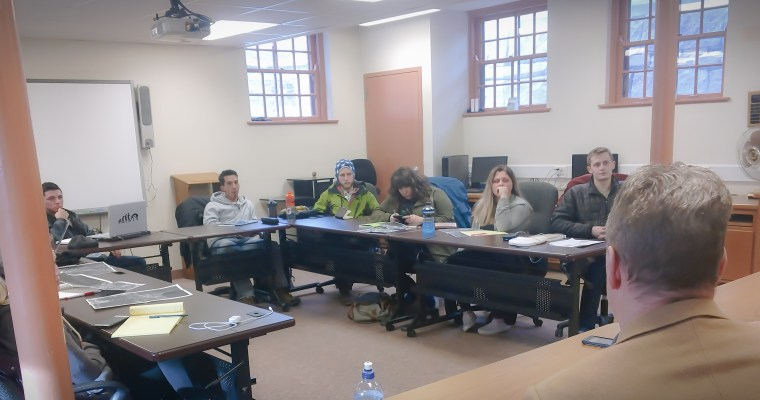 National Park Service + NDSU Landscape Architecture Program Students in Ortonville!