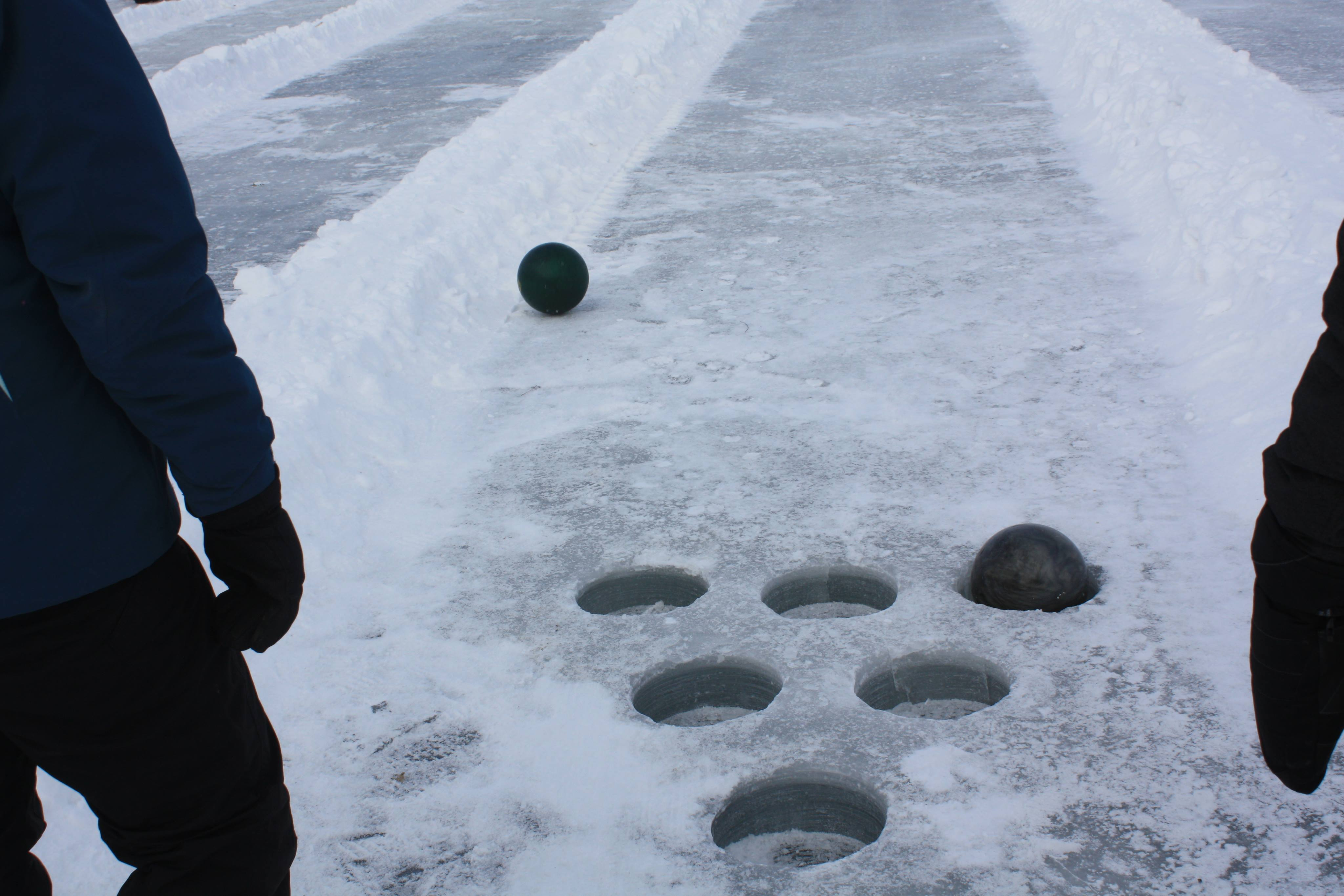 Ice Bowling in the #MNbump