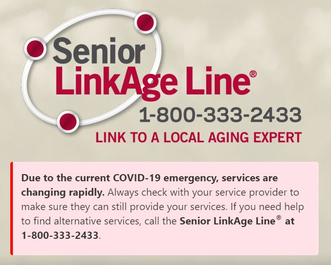 Senior Linkage graphic
