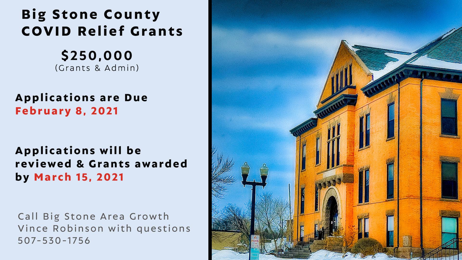 2021 Big Stone County Relief Program