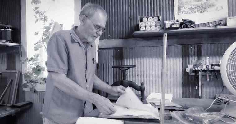 Papermaking with Don Sherman